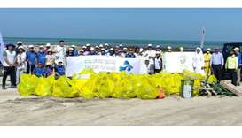 MME carries out cleanup campaign at Abu Dhalouf Beach