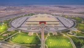 Al Bayt Stadium will host the opening game of the FIFA Arab Cup between Qatar and Bahrain on Novembe