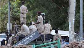 Members of Sudan's cabinet and a large number of pro-government party leaders were arrested on Monda