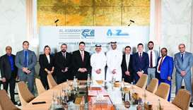 Al Asmakh Facilities Management and A to Z Services look to create one of the largest integrated fac