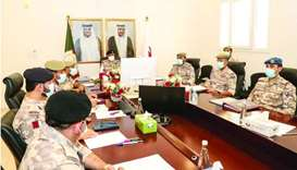 Preparatory committee meet for GCC Supreme Military Committee Consultative Meeting opens