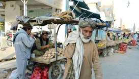 More than 22 million Afghans will suffer food insecurity this winter, UN agencies have warned. (AFP)