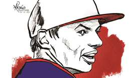 Red Bull's Dutch driver Max Verstappen illustration by Renold/Gulf Times