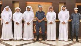 The committee for removing abandoned vehicles, headed by Major General Ali Salman al-Mohannadi, has