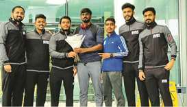 New Vision Badminton Sport (NVBS) aims to world class players in Qatar took a shot in the arm with t