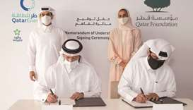 Siraj Energy has signed two MoUs with Qatar Foundation and Woqod related to co-operation in photovol