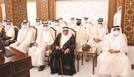 The inauguration ceremony was attended by His Highness the Father Amir Sheikh Hamad bin Khalifa al-T