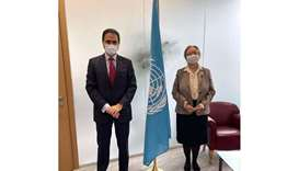 The Director-General of the UN Office in Geneva, Tatiana Valovaya, met with HE the Permanent Represe