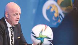 President Infantino was speaking during a visit to the compound in Doha at which the State of Qatar,