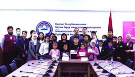 Qatar Charity realises wishes of hundreds of orphans in Kyrgyzstan