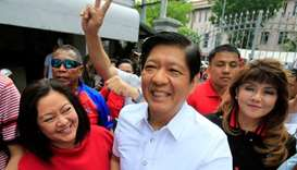 Son of late Philippines strongman Marcos to run for presidency