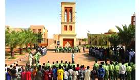 Sudanese officials commence academic year of Tayba Education City
