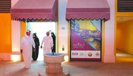 'Community Market' at The Pearl-Qatar nears completion