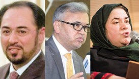 Afghanistan sacks 3 ministers including that of foreign affairs