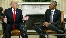 President Obama meets with President-electTrump