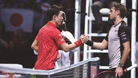 Nishikori avenges US Open defeat with Wawrinka rout