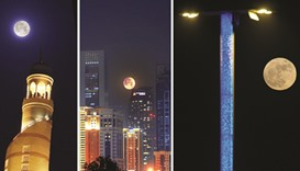 'Supermoon' treat for Doha's skygazers