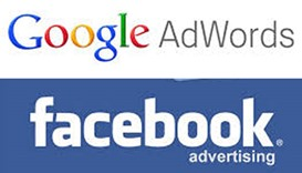 Google, Facebook ads