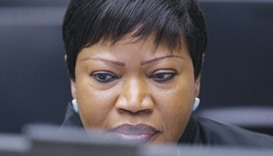 This file photo taken on January 28, 2016 shows prosecutor Fatou Bensouda looking on before the star