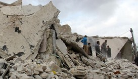 Syrian, Russian jets pound rebel areas: monitor