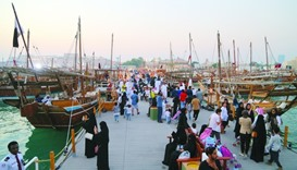 Visitors continue to throng Dhow Festival