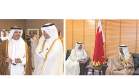 Premier attends Arabian Gulf Security exercise in Bahrain
