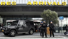 Armed police sweep Rotterdam airport after terror tip-off