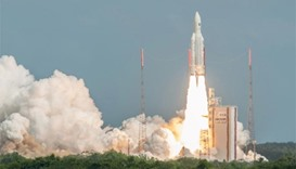 Galileo satellites rocket into space
