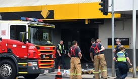 26 injured after man sets fire to Australian bank