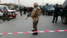 Suicide bomber targets crowded mosque in Kabul