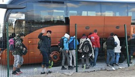 France moves Calais child migrants to reception centres