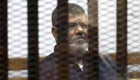 Egypt court overturns life sentence against Mursi