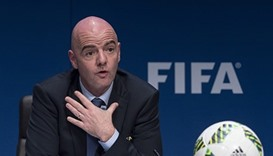 FIFA's Infantino wants video replays at 2018 World Cup