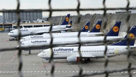 115,000 passengers hit as Lufthansa strike heads into second day