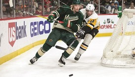 Wild's three goals lead to 6-2 romp over Penguins
