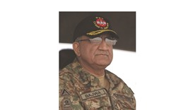 In this photograph taken on November 16, 2016, Pakistani Army General Qamar Javed 