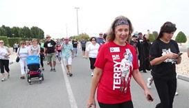 The 13th annual Terry Fox Run in Qatar