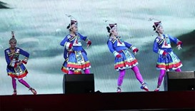 Chinese traditional dances at MIA Park, Doha