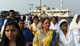 Women enter Indian shrine after legal battle