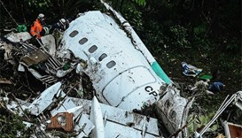 Colombia probes plane crash that wiped out football team