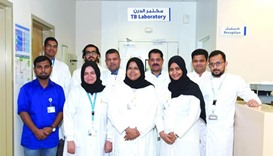 CDC hosts the only TB diagnostics facility in Qatar