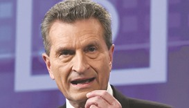 Oettinger: I can now see that the words I used have created bad feelings and may even have hurt peop