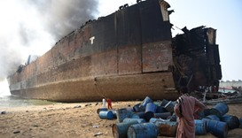 Death toll rises to 26 in Pakistan shipbreaking blast