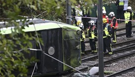 Five killed in London tram accident; driver arrested