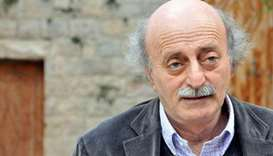 Lebanese politician Jumblatt says time for Hariri to return