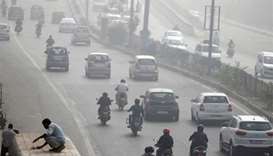 Water to be sprayed over Delhi to combat smog