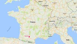Three hurt after car deliberately rams people in southern France