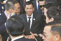 Duterte vows firmer stance on sea dispute