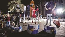 Fakhro crowned Qatar's King of Drift