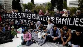 Refugees in Greece demand transfer to Germany, start hunger strike